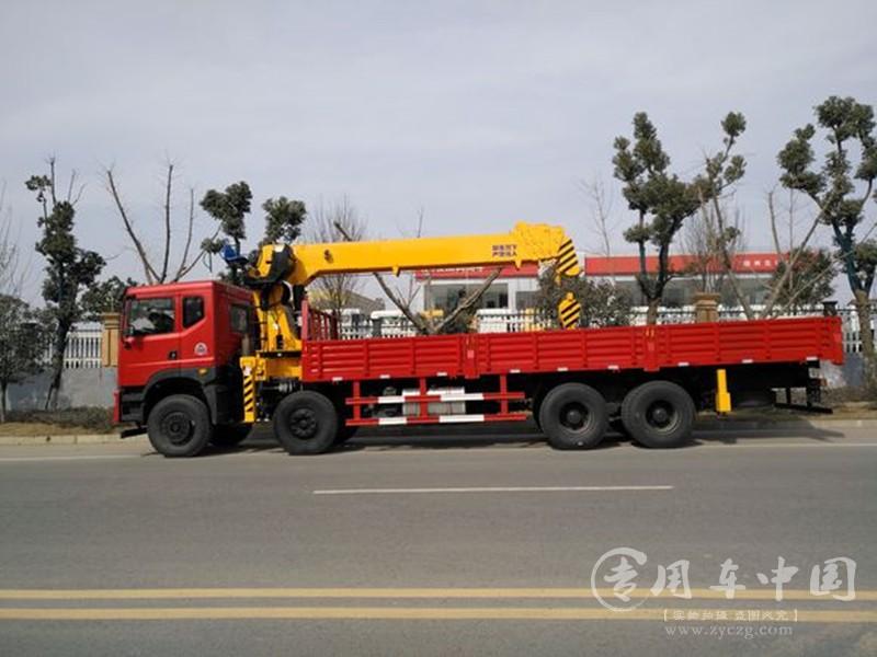 程力东风御龙16吨随车吊