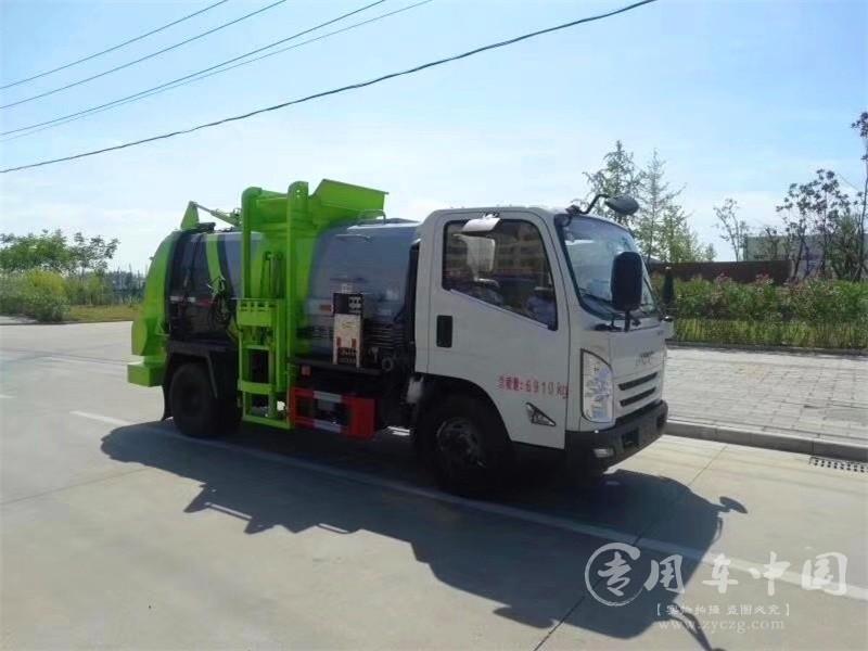 江铃5方餐厨垃圾车图片