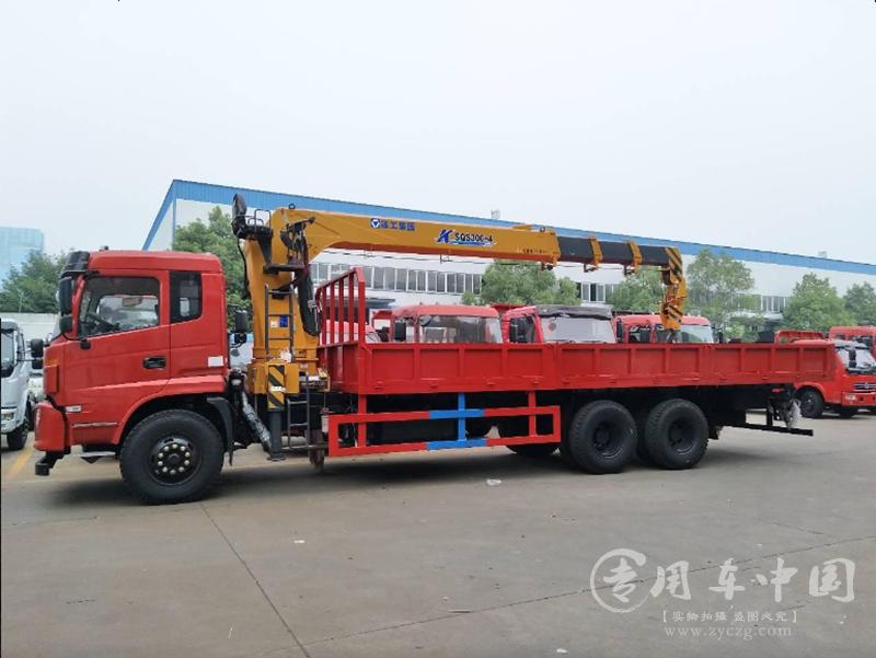 程力东风御龙12吨随车吊