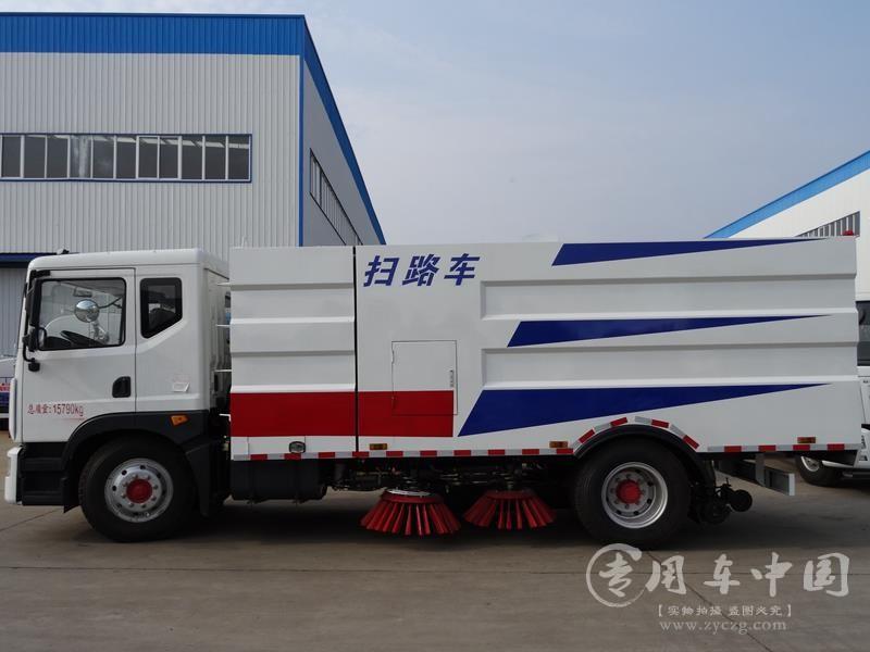 程力东风D9 10方扫路车