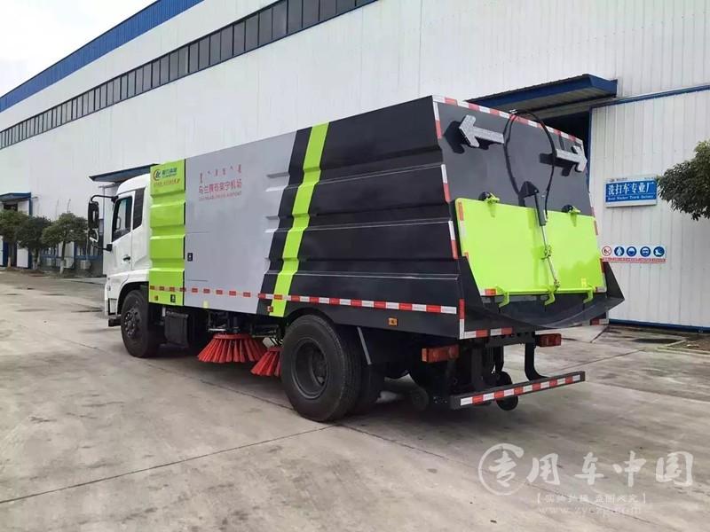 程力东风天锦12方扫路车