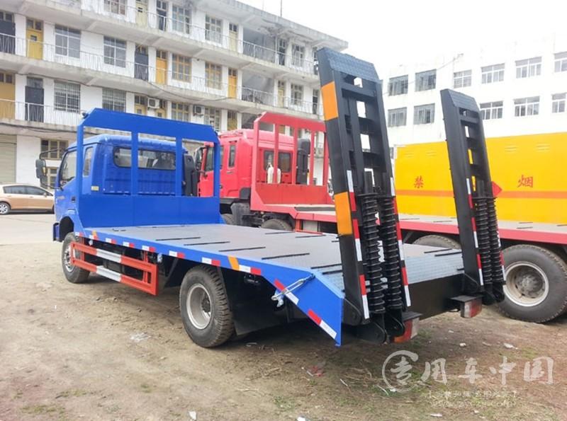 程力福田时代4米3平板运输车