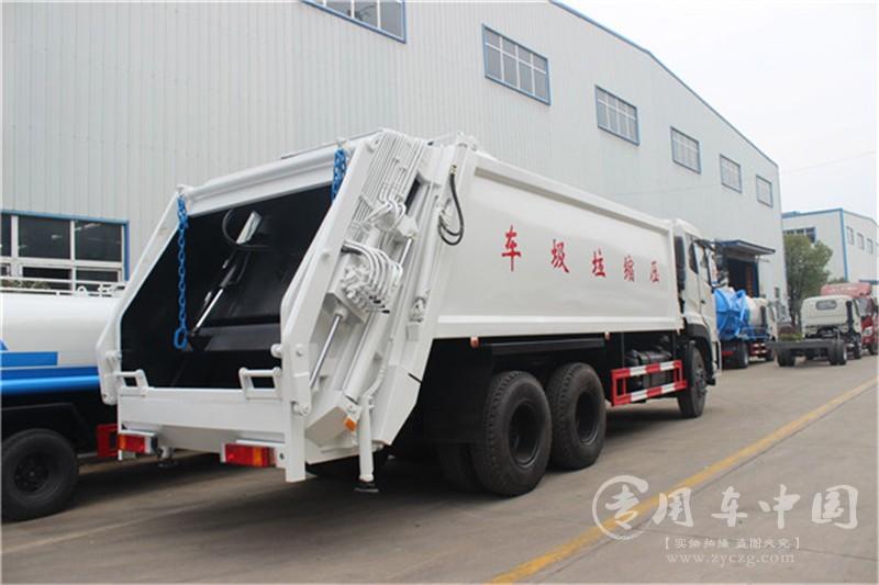 合力东风天龙18方压缩式垃圾车程力东风天龙18方压缩式垃圾车
