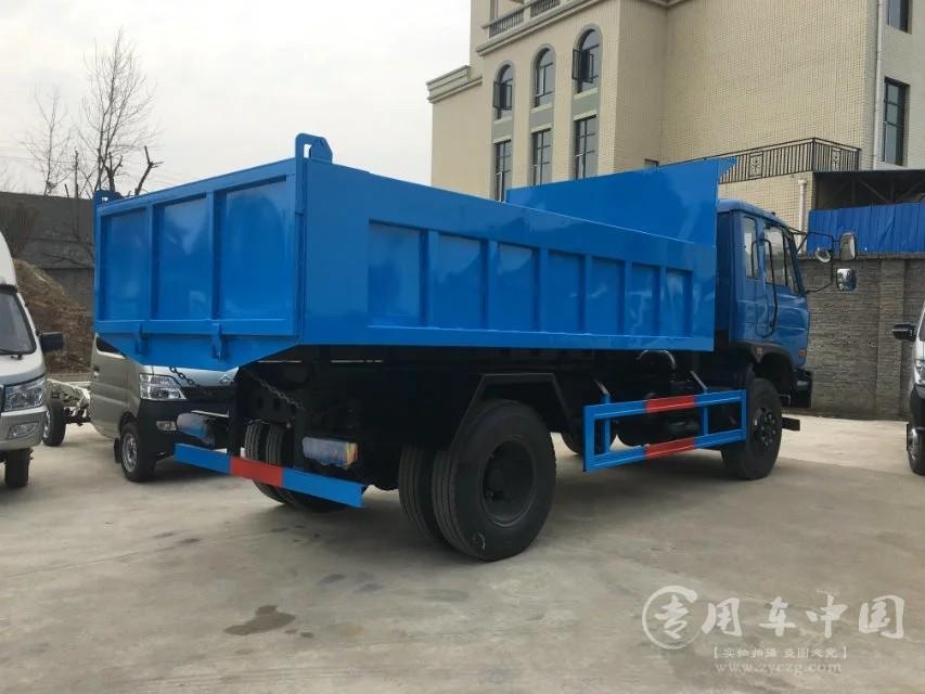 程力东风145 8方自卸式垃圾车