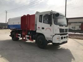 东风专底10方挂桶垃圾车