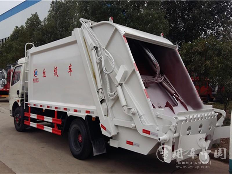 东风6方垃圾车图片