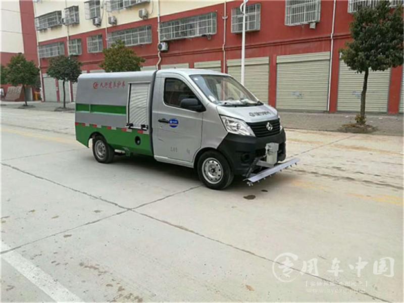 长安人行道养护车图片