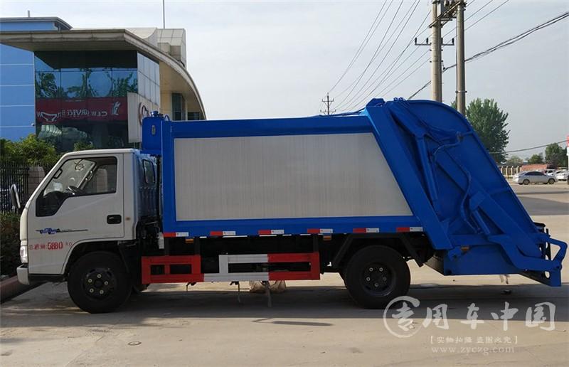 合力江铃顺达5方压缩式垃圾车
