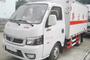 东风途逸汽油版3米2类天然气易燃气体厢式运输车