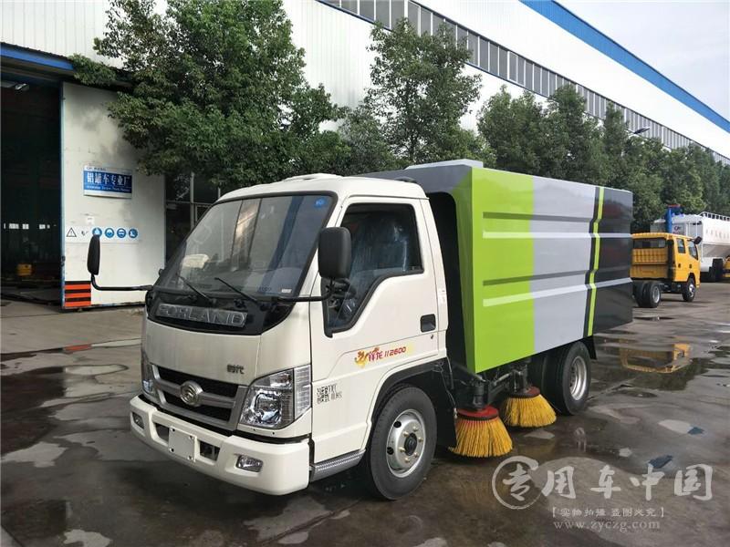 国六福田扫路车价格表¥12.5-15.2万