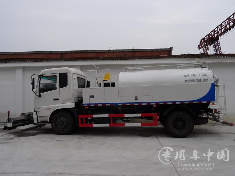 程力东风天锦14方高压清洗车