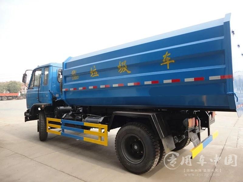 合力东风145 10方挂桶式垃圾车