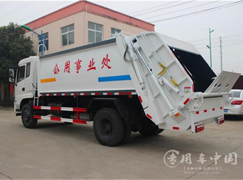 合力东风专底12方压缩式垃圾车