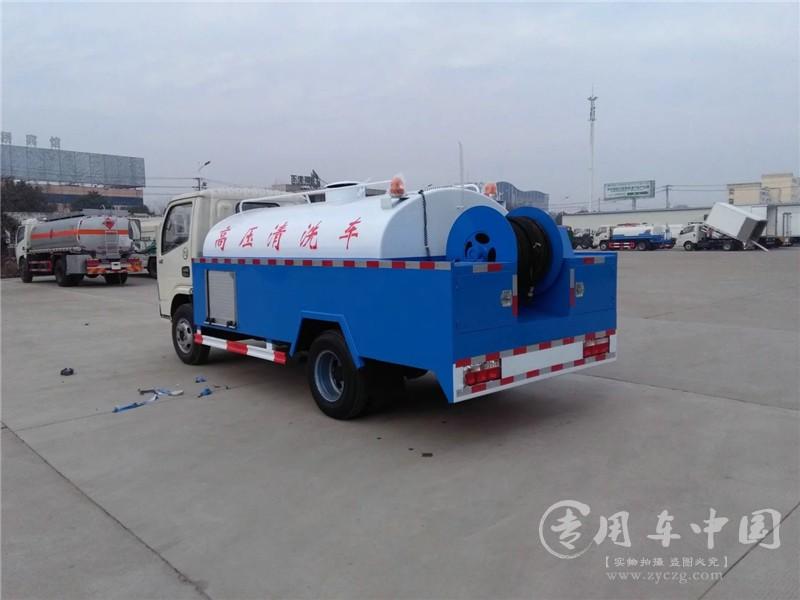 程力东风多利卡4方高压清洗车