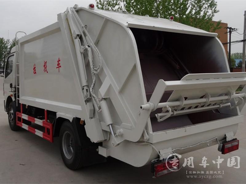 东风8方压缩垃圾车图片