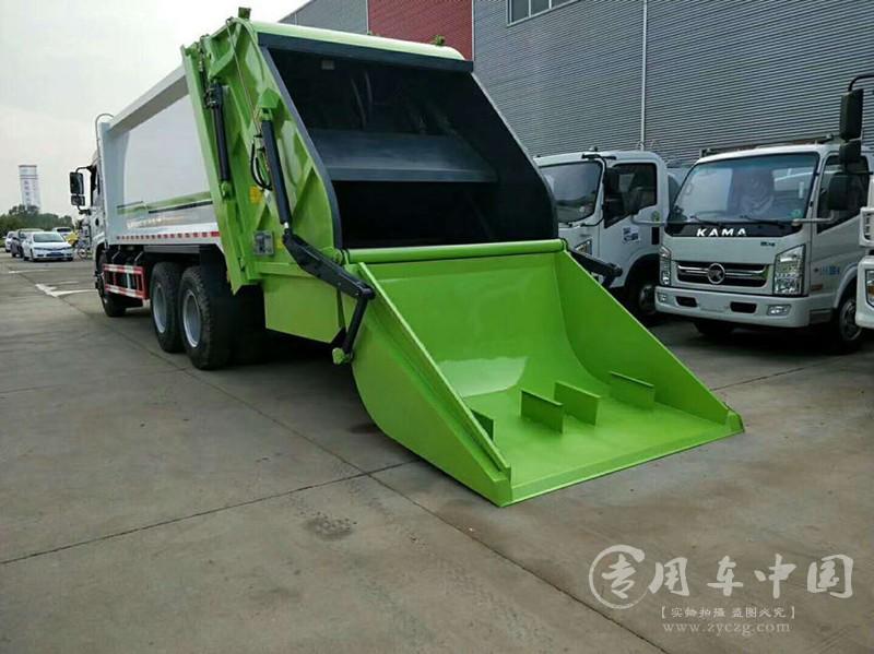东风专底16方压缩垃圾车图片