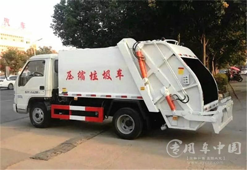 程力福田小卡3方压缩式垃圾车
