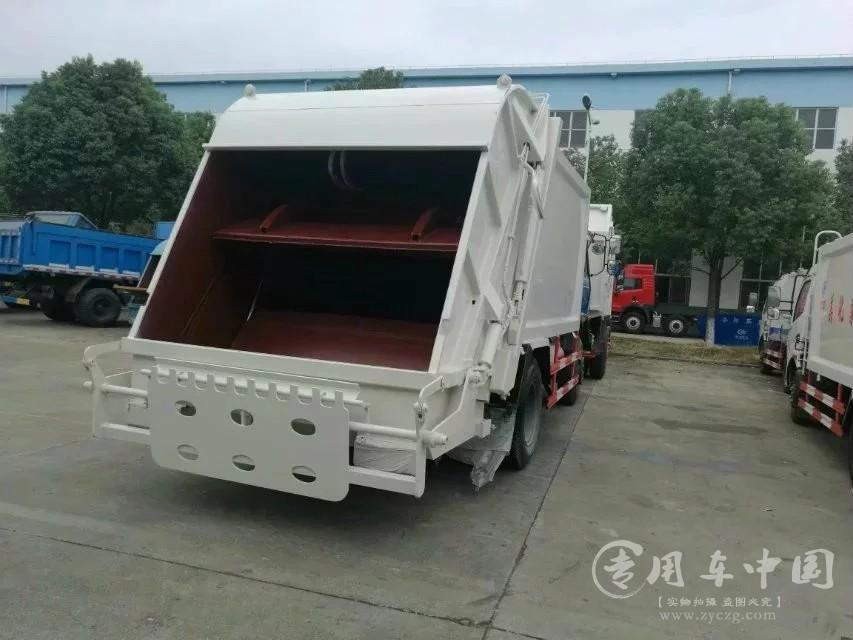 程力东风153 12方压缩式垃圾车