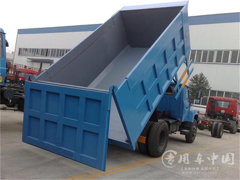 程力东风153 10方自卸式垃圾车