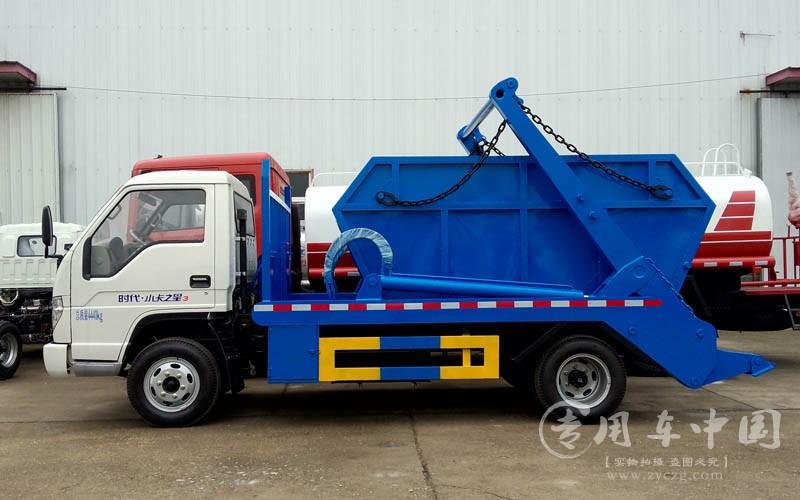 合力福田时代4方摆臂式垃圾车