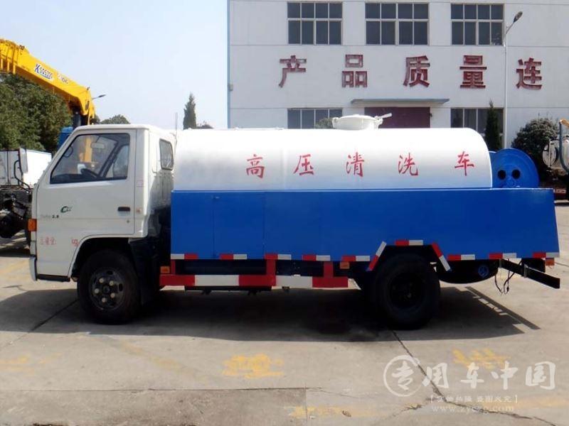 程力江铃顺达5方高压清洗车