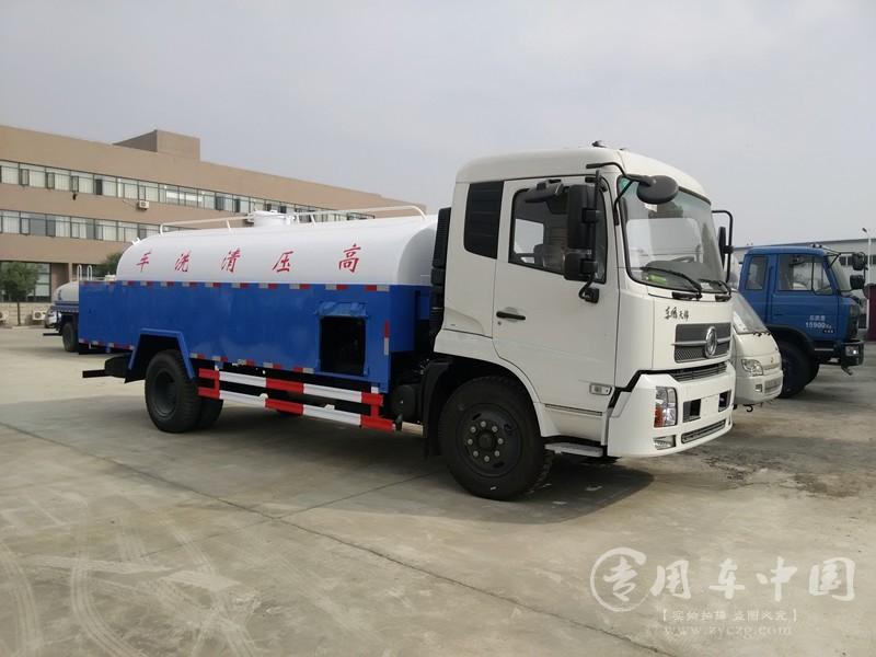 合力东风天锦8方高压清洗车