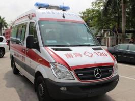 福建奔驰救护车