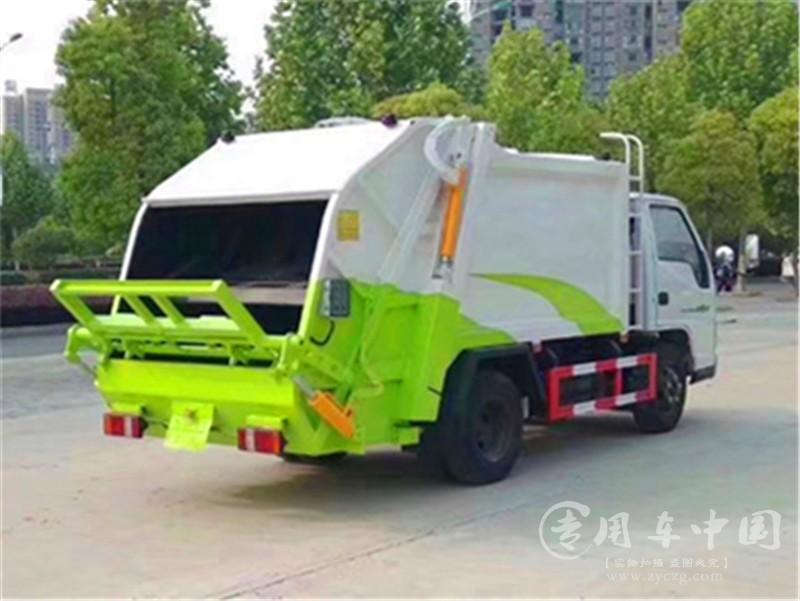 程力江铃顺达6方压缩式垃圾车