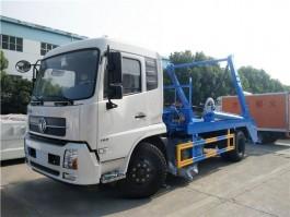 程力东风天锦8方摆臂式垃圾车