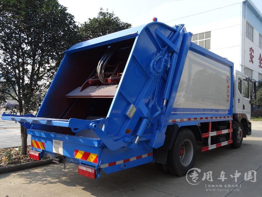 程力东风D9 10方压缩式垃圾车