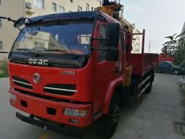 舜德东风福瑞卡6.3吨随车吊