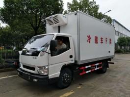 江铃顺达宽体4米2冷藏车