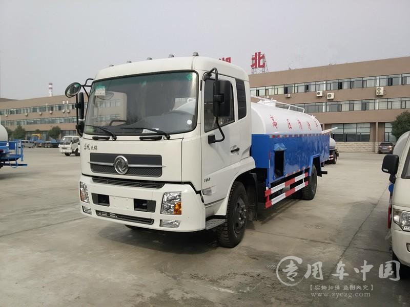 程力东风天锦8方高压清洗车