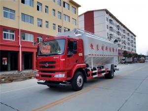 东风柳汽28方散装饲料运输车