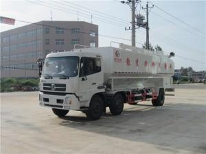东风天锦30方散装饲料运输车