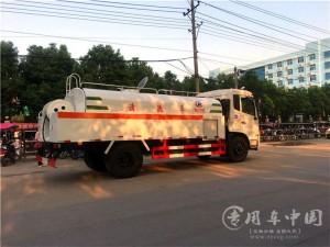 东风天锦10方高压清洗车