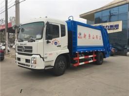 东风天锦10方压缩垃圾车