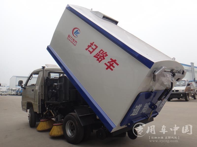 福田小卡小型扫路车图片