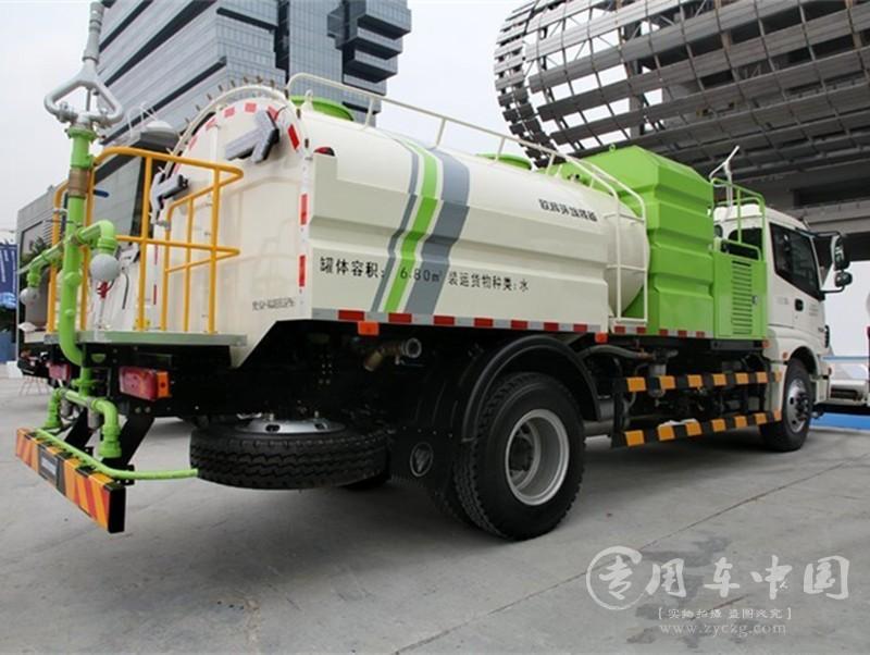 程力福田欧曼10方高压清洗车