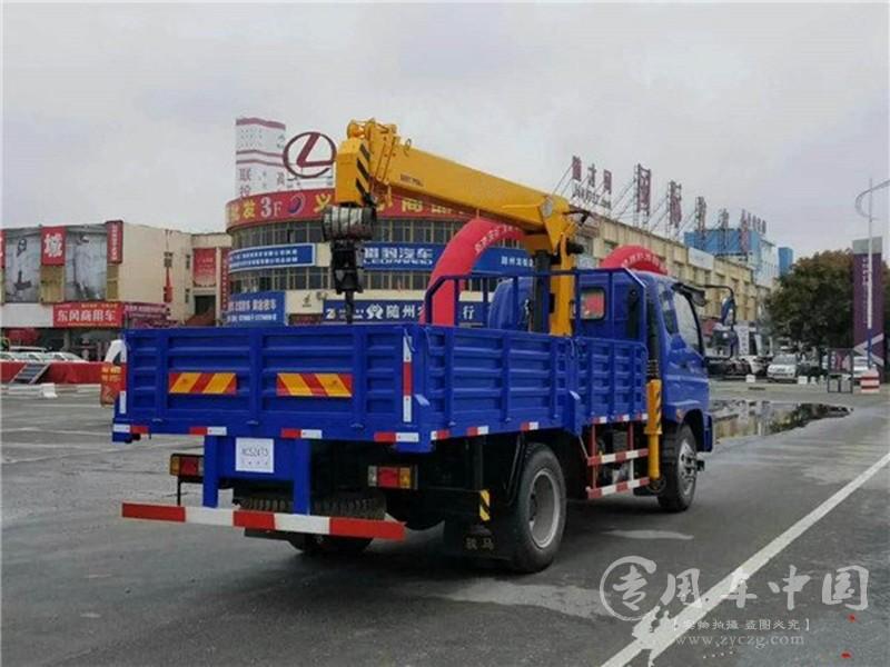 福田6.3吨随车吊图片