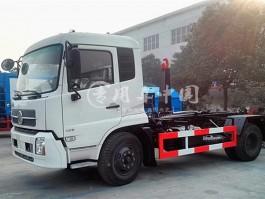 合力东风天锦12方勾臂式垃圾车