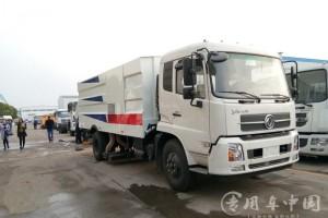 东风天锦大型吸尘车价格¥32.9万元