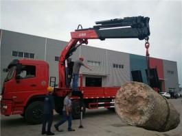 程力威龙20吨折臂随车吊