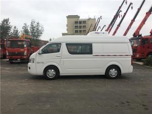 福田G7双排药品运输冷面包藏车