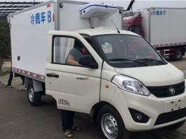程力国六小型冷藏车3米