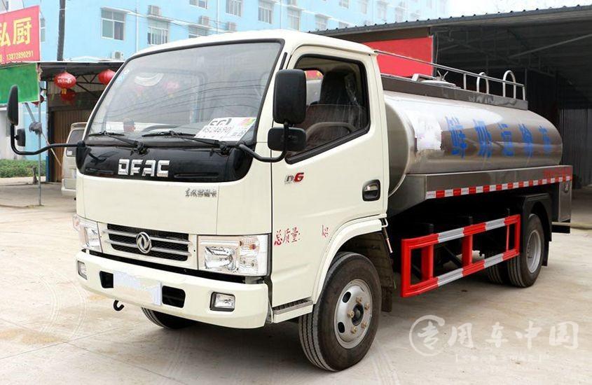 东风多利卡小型鲜奶运输车