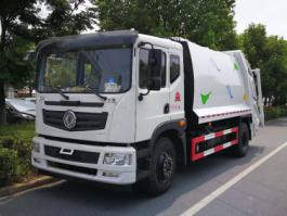 东风T5 10方压缩式垃圾车