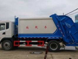 陕汽轩德14方压缩式垃圾车