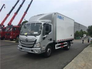 楚胜福田欧马可S3冷藏车