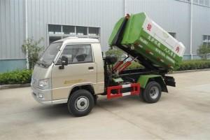 程力垃圾车装卸垃圾时液压系统注意事项